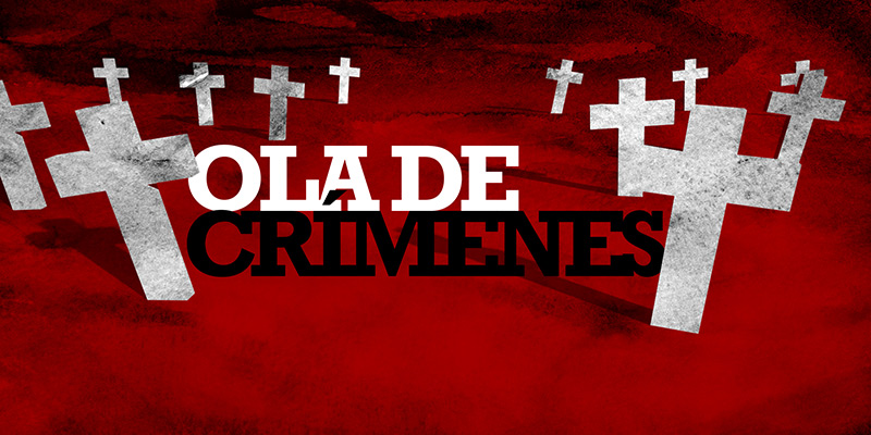ola de crimenes, title credits