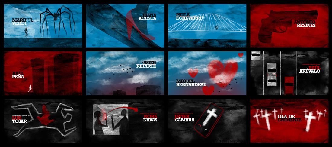 Storyboard, Ola de crimenes